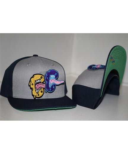 Bluecheese Velcro Cheese Bite Snapback