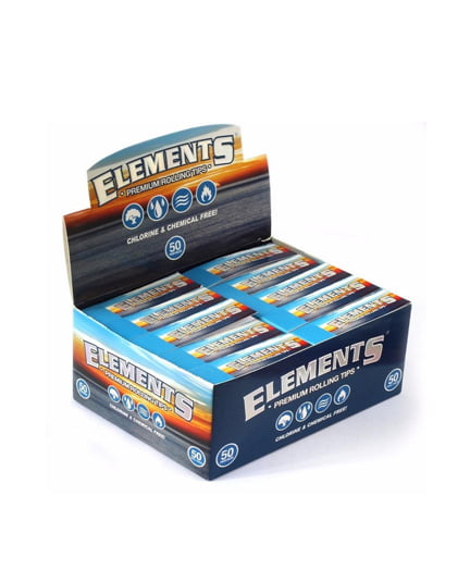 Elements Premium Perforated Rolling Tips