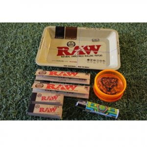 Raw Classic Small Rolling Tray Bundle
