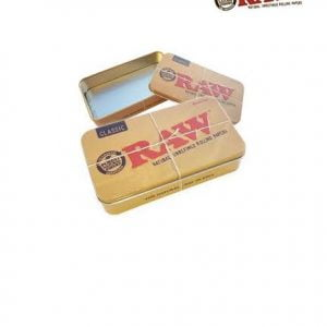 Raw Metal Tin Box