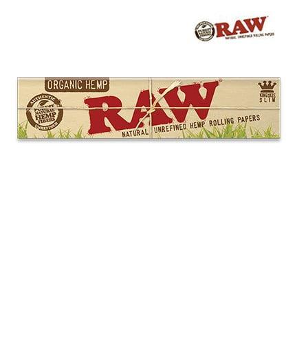 Raw Organic Hemp Kingsize Slim