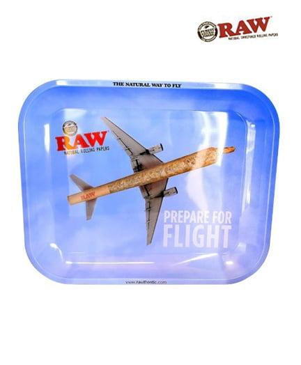 Raw Prepare For Flight Rolling Tray