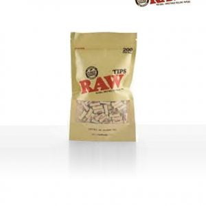 Raw Tips 200 Pack Front