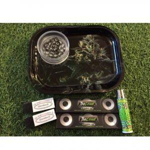 Bud Life Mini Rolling Tray Bundle