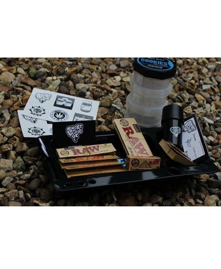 Cookies Rolling Tray Bundle (black)