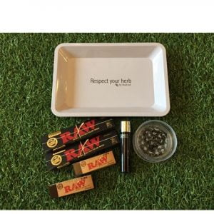 Respect Your Herb Rolling Tray Bundle