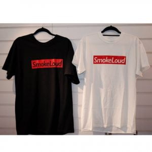 Smokelouduk Box Logo Short Sleeve T Shirt
