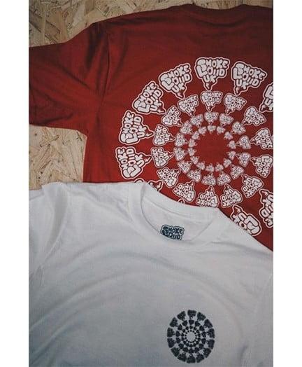 Smokelouduk Og Spiral Short Sleeve T Shirt