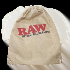 raw drawstring tan